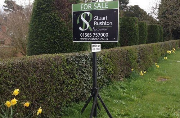 for sale estate agent board