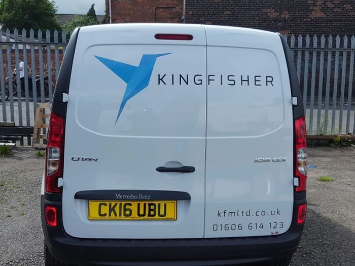 small van vinyl graphics northwich