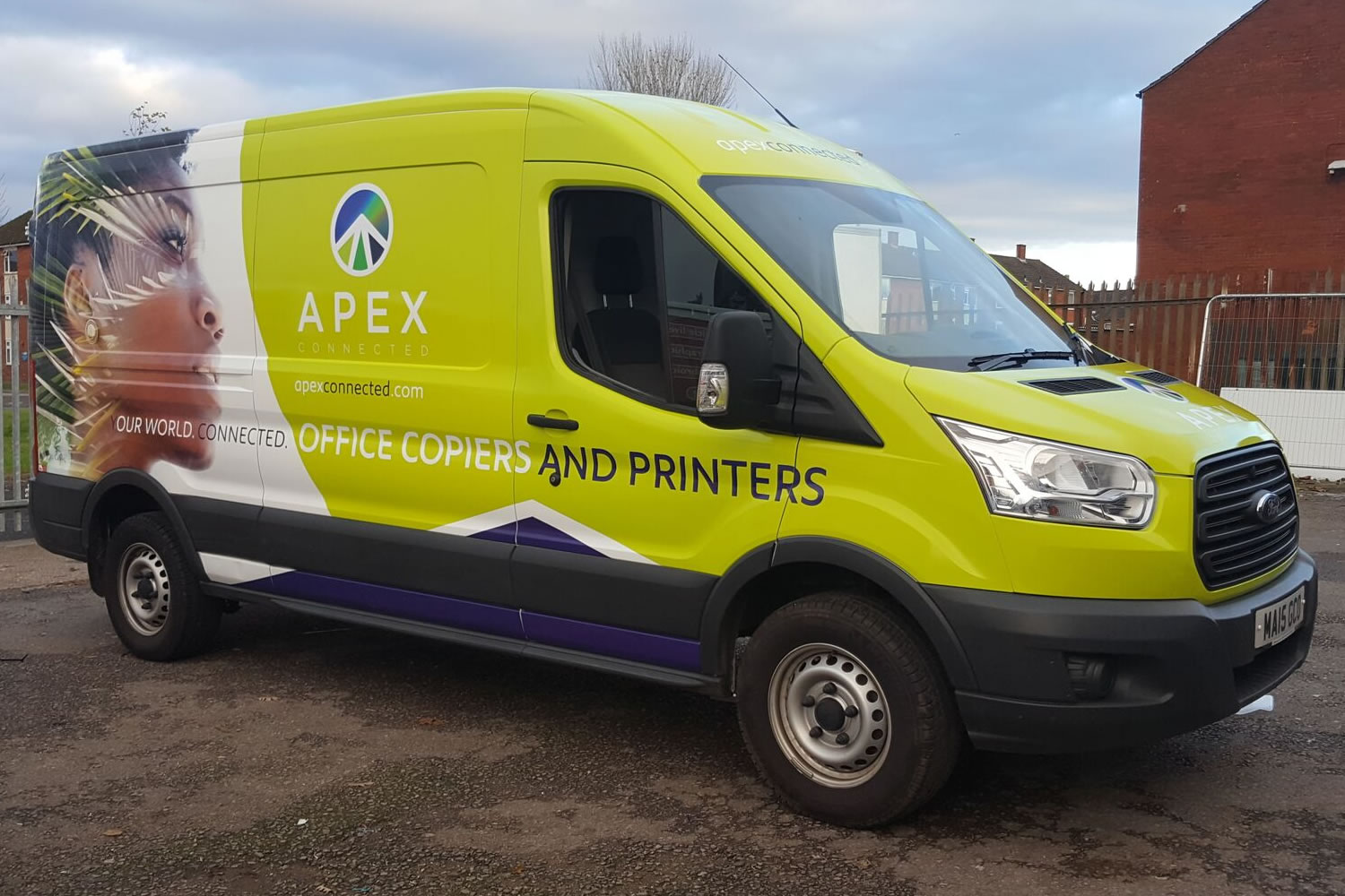 apex van wrap cheshire