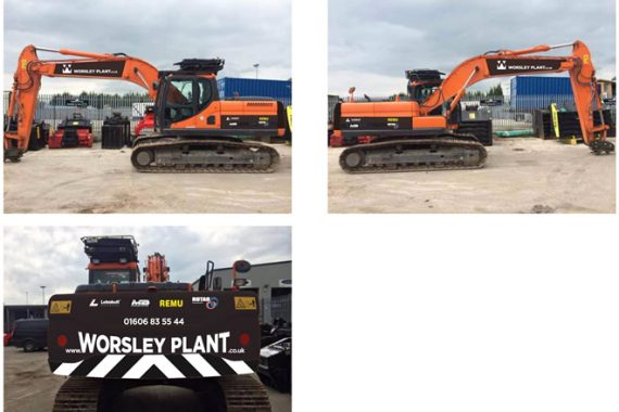 digger wrap designs cheshire and manchester